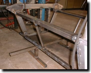 Rear chassis modification